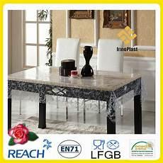 nappe pvc transparent en plastique 233 pais nappe de table id