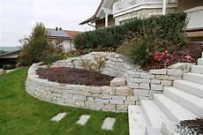 Steine Im Garten - mauer trockenmauer stein gartengestaltung gartenbau