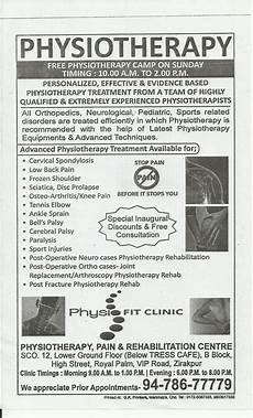 physio fit clinic zirakpur me