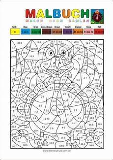 Ausmalbilder Grundschule Klasse 3 Malen Nach Zahlen Multiplizieren Und Dividieren