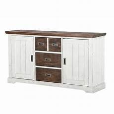 sideboard 160 cm breit sideboard dover wei 223 braun massivholz 160 cm breit m 214 bel