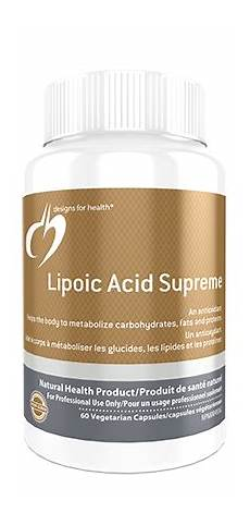 lipoic acid supreme lipoic acid supreme 60 vegetarian capsules wood health