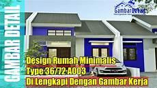 Desain Denah Rumah Minimalis Type 36 72 L Desain