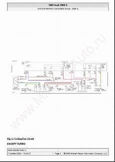 auto manual repair 1985 audi 5000s interior lighting audi 5000 s 1985 wiring diagrams sch service manual download schematics eeprom repair info