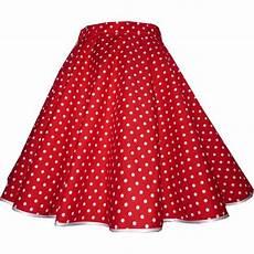 roter rock weiße punkte tellerrock rot kleine wei 223 e punkte tanzkleid der 50er