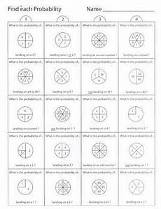 probability worksheets spinners 5883 probability spinners worksheet 1 by kevin wilda tpt