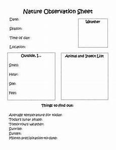 nature observation worksheets 15139 nature observation sheet nature research outdoor summer activities nature journal