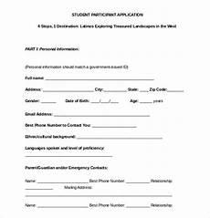 19 college application templates pdf doc free premium templates