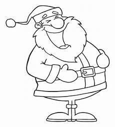 ausmalbilder weihnachtsmann gratis kostenlose malvorlage weihnachten lachender