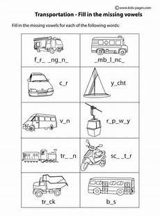 transportation worksheets 18484 transportation fill in bw worksheets