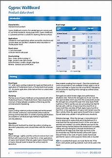 gypsum safety data sheets
