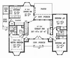 bhg house plans featured house plan bhg 1877