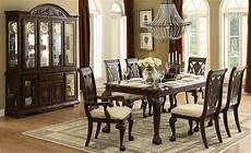 norwich warm cherry leg dining room set from homelegance 5055 82 coleman furniture