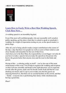 How To Write A Best Speech
