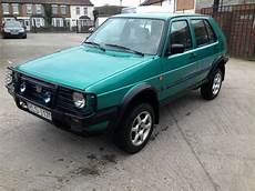 1991 Volkswagen Vw Golf Country Syncro 4x4 Lhd Project
