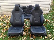b8 s4 interior front and rear black seats assentos de carro