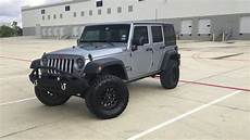 lifted 2015 jeep wrangler unlimited walkaround youtube