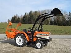Kleintraktor Schmalspurtraktor Minitraktor Kubota B1702m