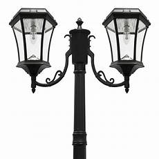 gama sonic victorian bulb series 2 head black solar l with gs solar led light bulb gs
