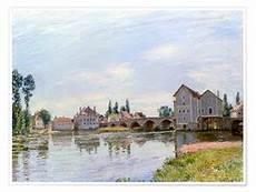 dhl villeneuve la garenne bridge near hton court posters and prints