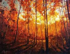 autumn graphics picture autumn gold painting