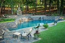 Pools Fuer Den Garten - effektvolle poolgestaltung im garten archzine net