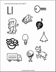 letter l sound worksheets 24492 learning the letter l