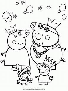 pin cartoni peppa pig disegni da colorare imagixs cake