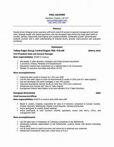 format of cv in canada how to write a good resume