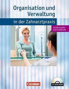 organisation und verwaltung in der zahnarztpraxis m cd