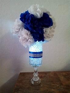 my wedding royal blue centerpieces diy wedding