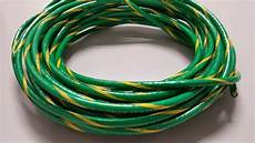 10 ground wire thhn wire green yellow 100 feet thwn 2 copper stranded ebay