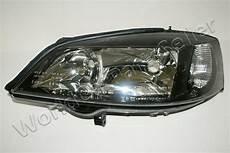 98 03 opel astra g headlight front l left black ebay