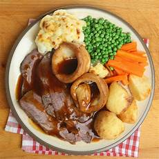 sunday roast foods ranked in order of necessity