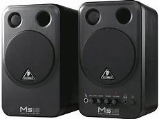 behringer ms16 active studio monitor speakers pair whybuynew co uk