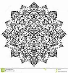 Mandala Malvorlagen Xl Geometric Mandala Stock Vector Illustration Of European
