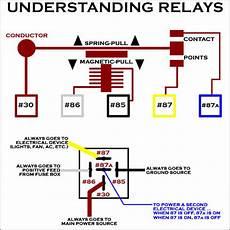 electric relay diagram wiring fuel pump