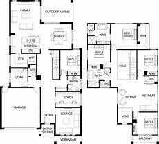 5 bedroom double storey house plans kensington collection floor plan two storey 5 bedroom