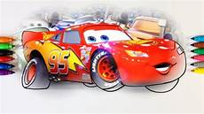 cars 3 lightning mcqueen moment of coloring