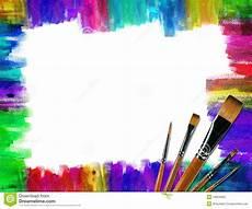 color brush frame image of design green 18954000