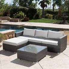 new arrival outdoor furniture small rattan sofa
