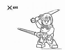 lego ninjago nya coloring pages lego ninjago nya