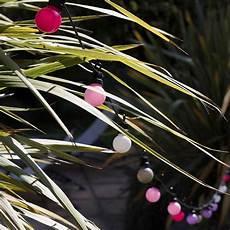 Cousin Paul Lichterkette Outdoor Led Venice Weiss Rosa