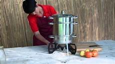 extracteur de jus vapeur
