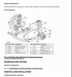 automotive service manuals 2003 ford taurus security system 2003 ford taurus service repair manual