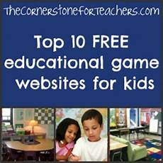 free educational game websites for kids the cornerstone