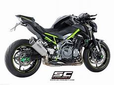 sc1 r exhaust by sc project kawasaki z900 2017 k25 90