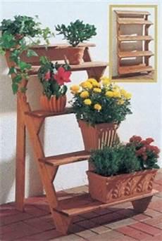 Blumentreppe Selber Bauen Anleitung Blumentreppe