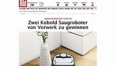 Vorwerk Saugroboter Gewinnspiel Bild De Kobold Vr200 Gewinnen