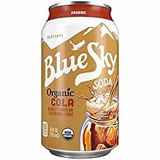 Amazon Com Bluesky 12 Pairs Amazon Com Blue Sky Organic Soda Cola Soft Drink 12 Fl